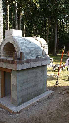 How To Make An Outdoor Pizza Oven (55)