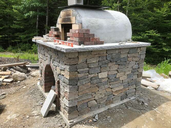 How To Build A Wood Fired Pizza Oven (73)