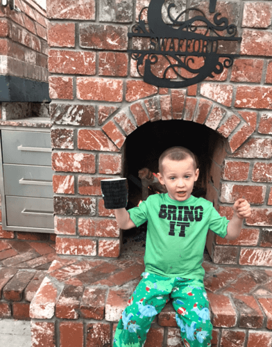 Pizza Oven Fireplace Combo (15)