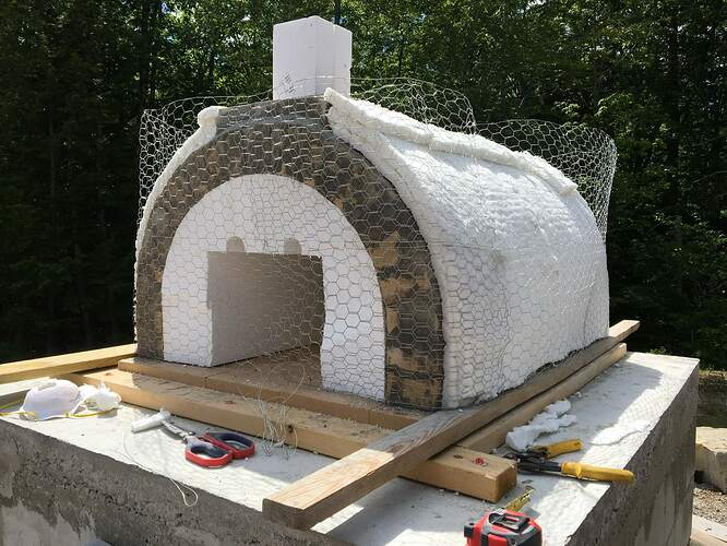How To Build A Wood Fired Pizza Oven (50)