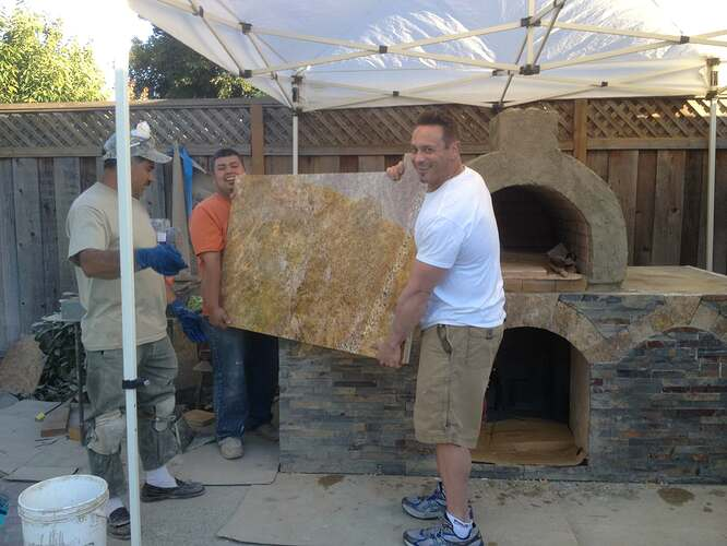 Outdoor Gas Pizza Oven (45)