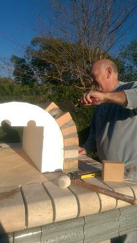 Pizza Oven Painted Stucco (5)
