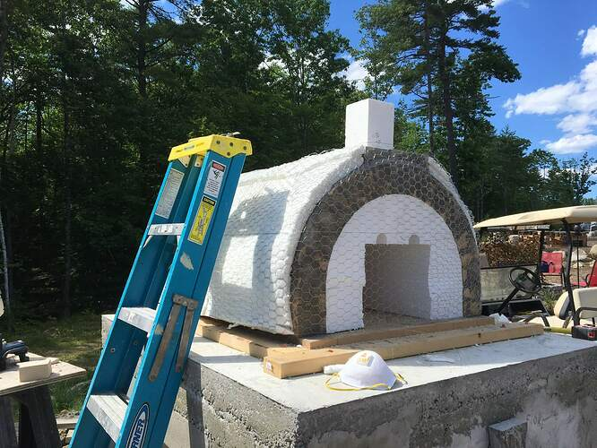 How To Build A Wood Fired Pizza Oven (52)