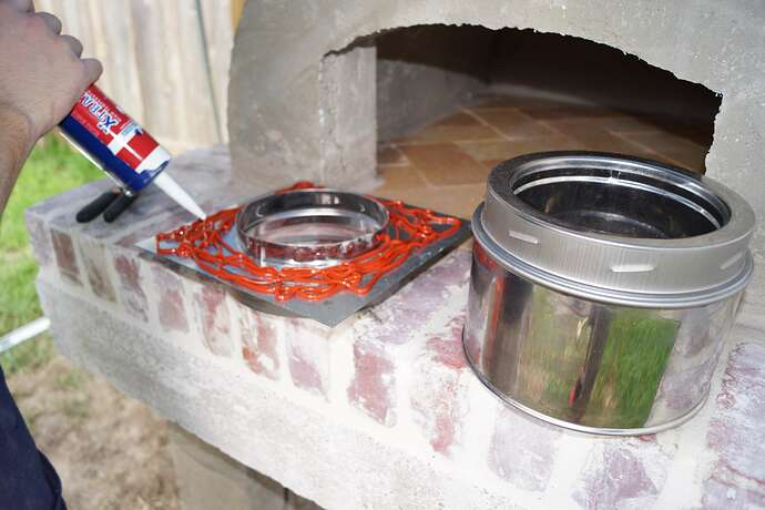 Refractory Cement Pizza Oven (94)