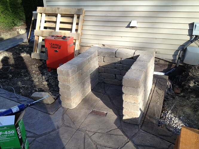 How To Build An Outdoor Brick Oven (7)