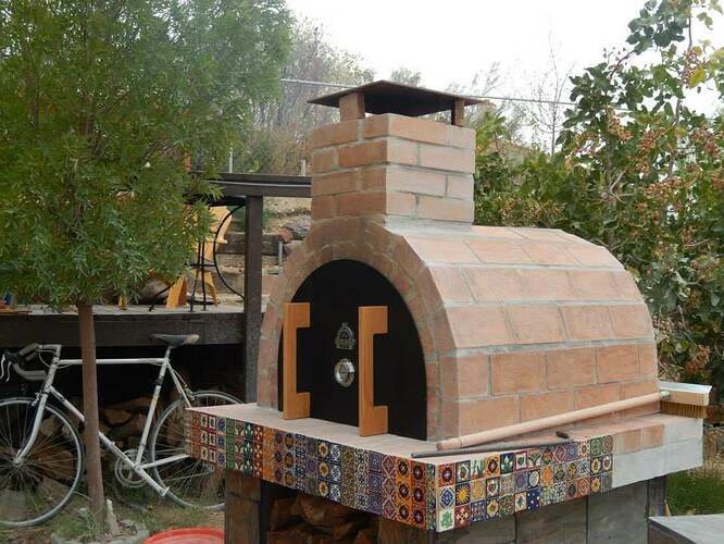 Build Your Own Brick Pizza Oven (32)