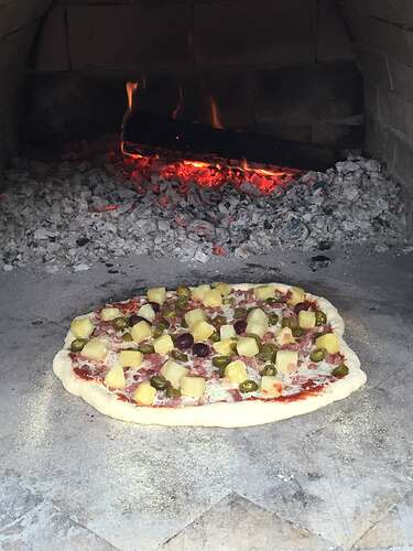 Homemade Outdoor Pizza Oven (53)