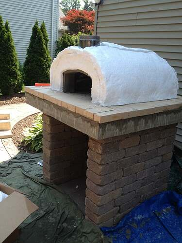 How To Build An Outdoor Brick Oven (69)