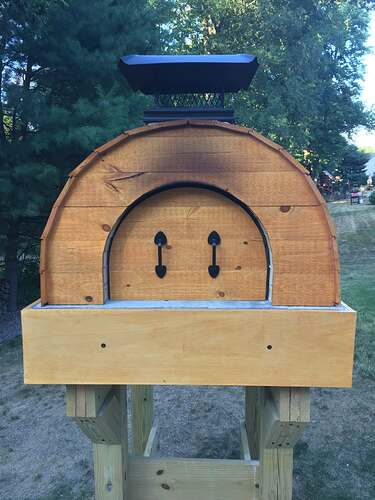 Building a Wood Fired Pizza Oven (51)