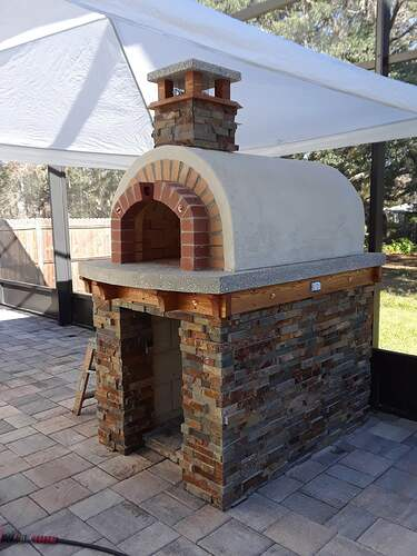 Building A Pizza Oven (186)