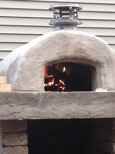 How To Build An Outdoor Brick Oven (81)