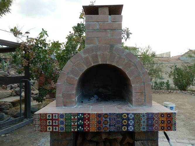 Build Your Own Brick Pizza Oven (29)