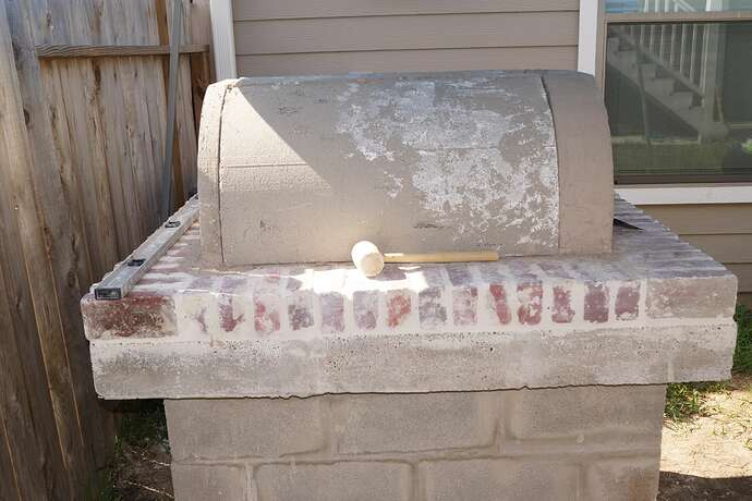 Refractory Cement Pizza Oven (90)