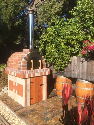How To Make A Garden Pizza Oven
