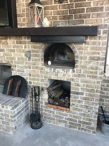 Outdoor Fireplace with TV (2)