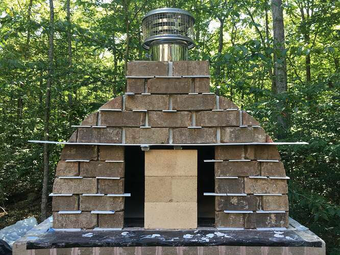 Wood Fired Brick Oven (99)