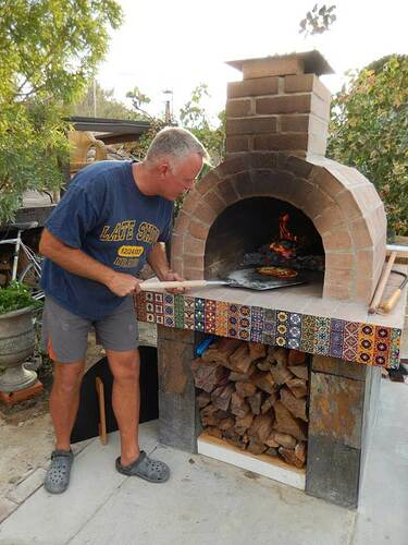 Build Your Own Brick Pizza Oven (37)