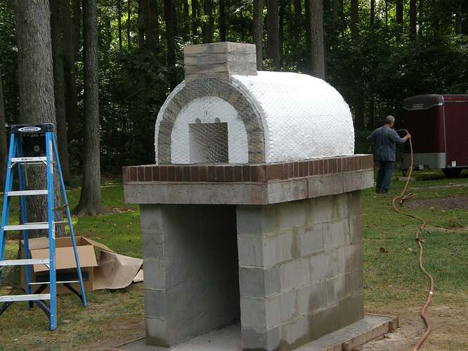 How To Make An Outdoor Pizza Oven (41)