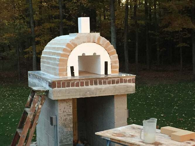 Outdoor Brick Oven And Grill (2)