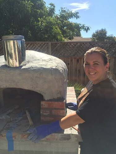 How To Make Wood Fired Oven At Home (34)