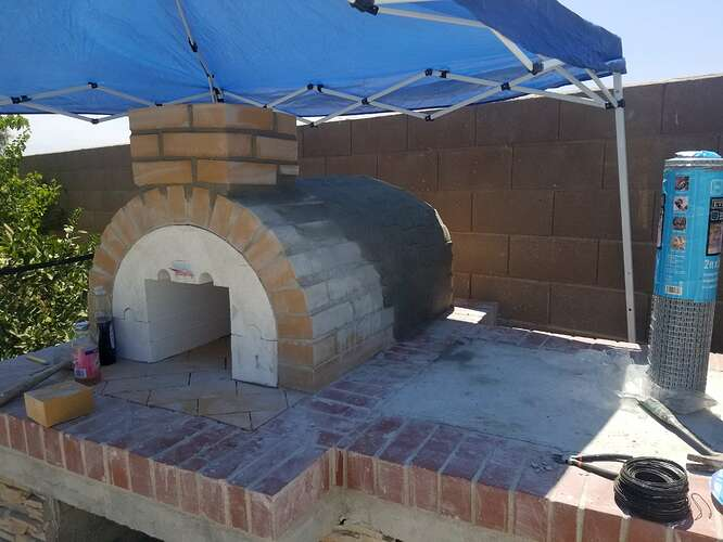 How to Build an Outdoor Pizza Oven Step by Step (14)