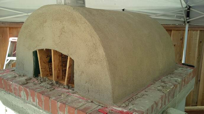 DIY Wood Fired Pizza Oven (46)