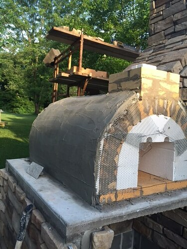 Outdoor Stone Fireplace (5)