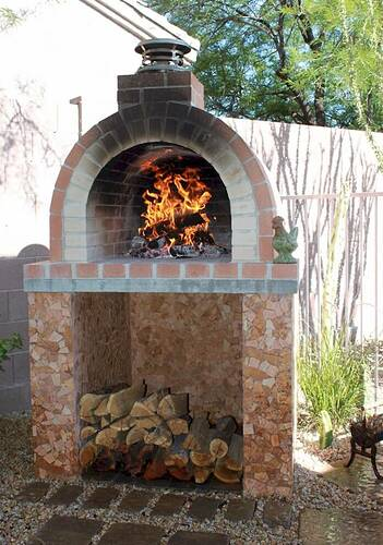 How To Build a Wood Fired Brick Oven (9)