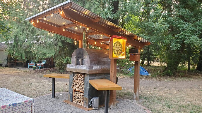 Outdoor Wood Burning Pizza Oven (35)