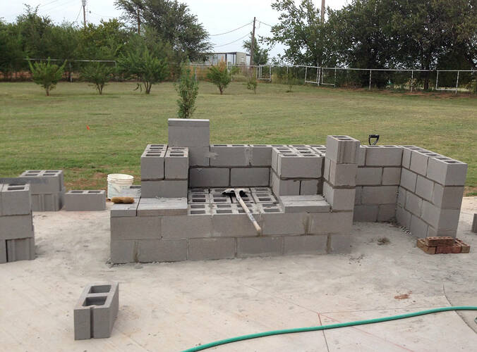 Large Outdoor Fireplace (2)