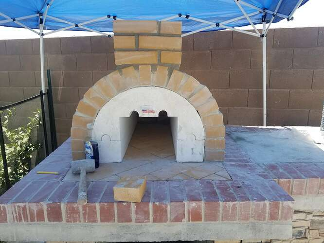 How to Build an Outdoor Pizza Oven Step by Step (15)