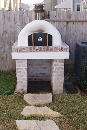 Refractory Cement Pizza Oven (144)