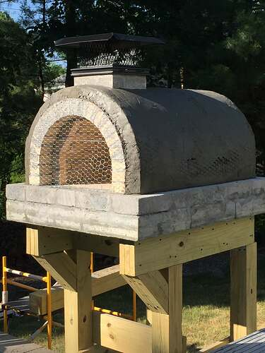 Building a Wood Fired Pizza Oven (34)