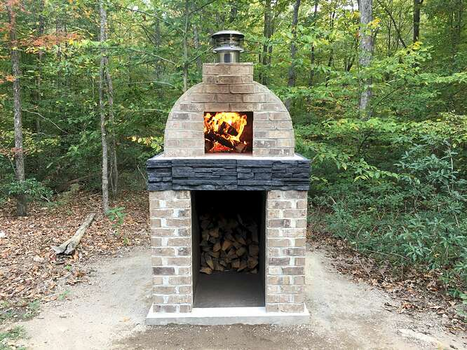 Wood Fired Brick Oven (112)