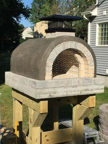 Building a Wood Fired Pizza Oven (35)