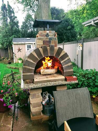 Brick Oven Pizza At Home