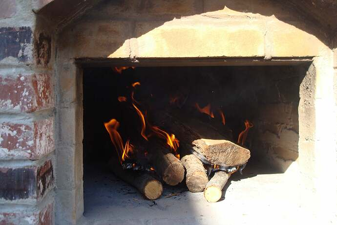 How To Make A Backyard Brick Pizza Oven (8)