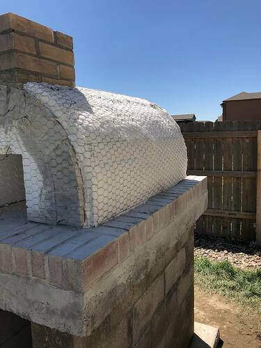 Building An Outdoor Wood Fired Oven (25)