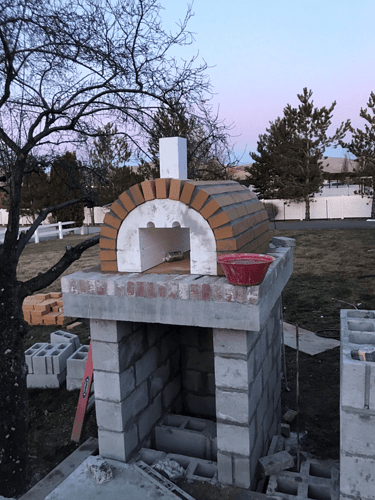 Pizza Oven Fireplace Combo (10)