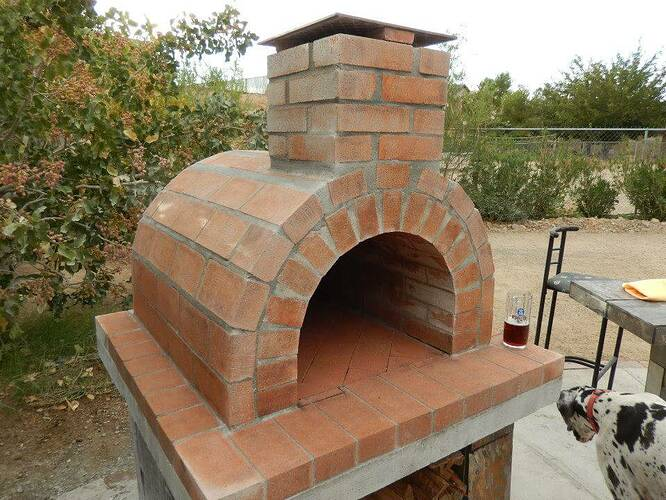 Build Your Own Brick Pizza Oven (27)