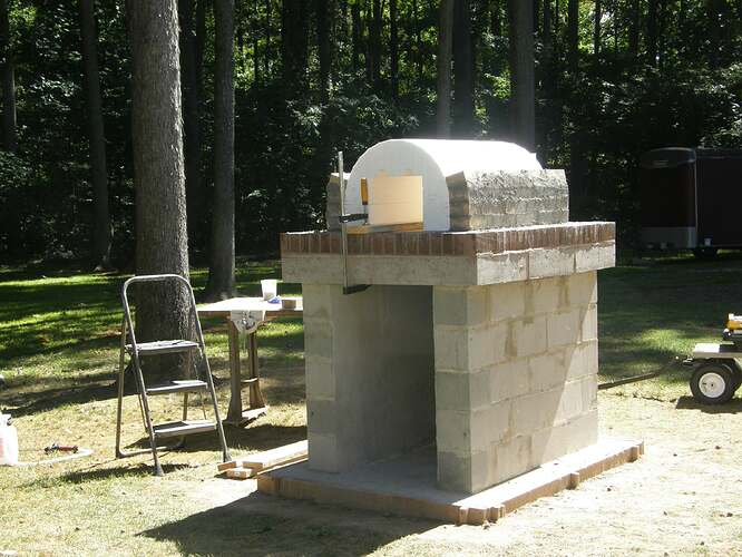 How To Make An Outdoor Pizza Oven (17)