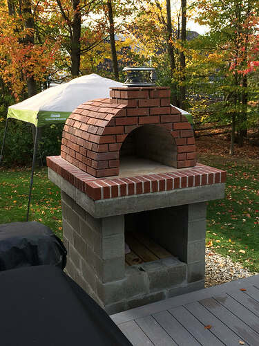 How To Make A Wood Fired Pizza Oven (38)