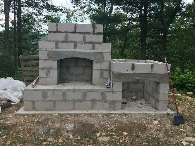 Small Outdoor Fireplace (7)