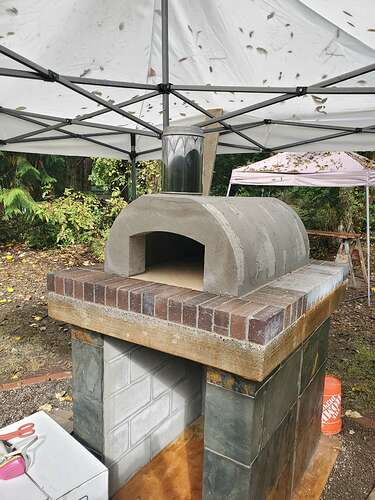 Outdoor Wood Burning Pizza Oven (15)