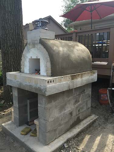 Simple Outdoor Oven (19)