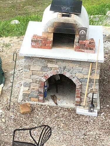 How To Build A Wood Fired Pizza Oven (72)