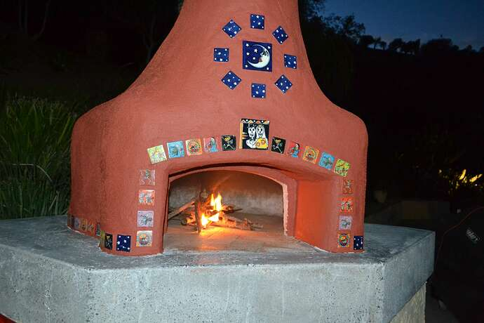 Wood Fire Pizza Oven (80)