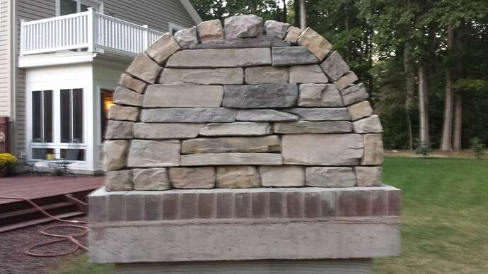 How To Make An Outdoor Pizza Oven (59)