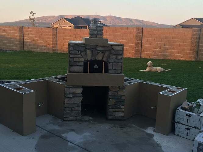 How To Build A Wood Fired Oven (30)