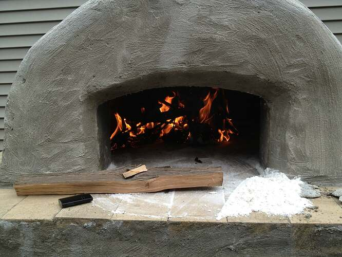 How To Build An Outdoor Brick Oven (77)